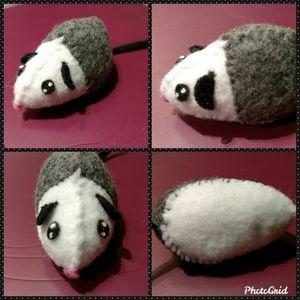 🐾Handmade Soft Plush Opposum🐾